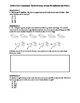 GSE Grade 3 Unit 2 Assessment Relationship between Multiplication and Division