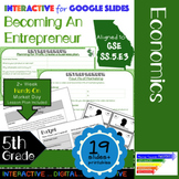 GSE SS5E3 Becoming an Entrepreneur: Simulation & Interactive for Google Slides