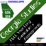 8th Grade Georgia Studies GSE Year-Long Digital Curriculum + Assessments