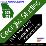 8th Grade Georgia Studies GSE Year-Long Digital Curriculum