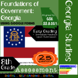 GSE SS8CG1 Foundations of Georgia Government: Assessment Using Google Forms