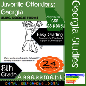 GSE SS8CG5 Juvenile Offenders in Georgia: Assessment Using Google Forms