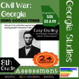 GSE SS8H5 Civil War Impact in Georgia Assessment: Using Google Forms