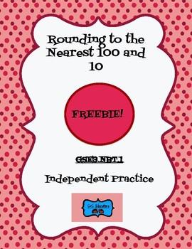 GSE3.NBT1: Third Grade Rounding Practice *Freebie*