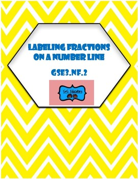 GSE3.NF2: Third Grade Labeling Fractions on a Number Line