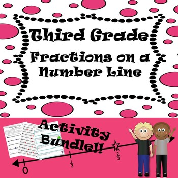 GSE3.NF2: Third Grade- Fractions on a Number Line- Activity Bundle