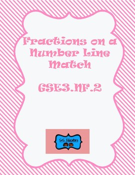 GSE3.NF2: Third Grade- Fractions on a Number Line Match