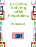 GSE3.NF2: Third Grade- Problem Solving with Fractions
