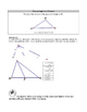 GSP Angle Sum Theorem and Exterior Angle Sum Theorem Exploration
