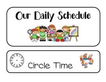 GSRP Pictured Schedule