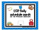 GSRP Preschool / PreK - Visual Daily Schedule / Routine Cards