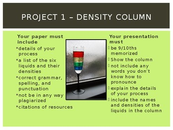 GT Density Related Projects
