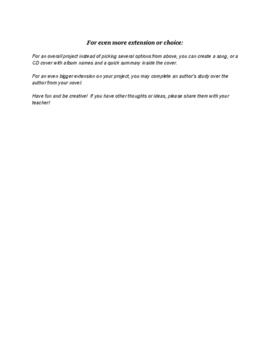 GT Extension Menus for Novel Response