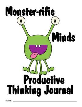 GT Productive Thinking Journal - Monster Theme