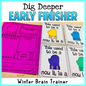 Winter Early Finisher Word of the Day