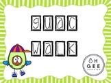 GUAC WALK- Rabbit Word Game- Orton- Gillingham Aligned