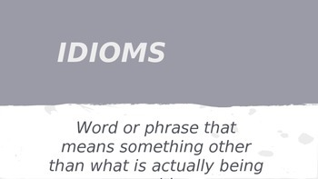 GUESS THE IDIOM