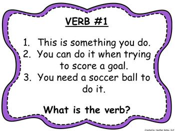 GUESS THE VERB