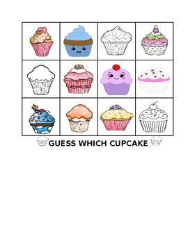 GUESS WHICH CUPCAKE