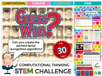 GUESS WHO COMPUTATIONAL THINKING CHALLENGE (STEM & DIGITAL TECHNOLOGIES )