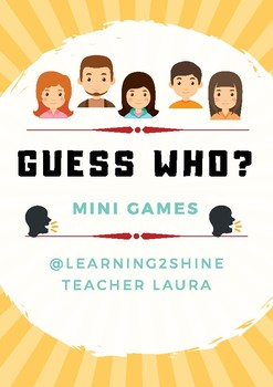 GUESS WHO MINI GAMES