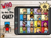GUESS WHO is on the Chat: Interactive Game for Google Slides