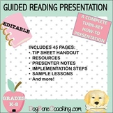 GUIDED READING - A COMPLETE EDITABLE POWERPOINT