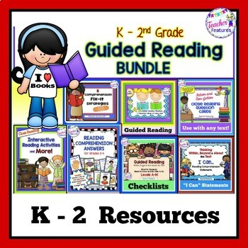 GUIDED READING ACTIVITIES BIG BUNDLE Levels A - L