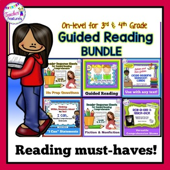 GUIDED READING ACTIVITIES BIG BUNDLE Levels M - S