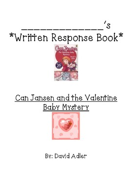 GUIDED READING  Comprehension ?s For Cam Jansen and the Valentine Baby Mystery