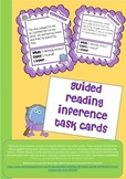 GUIDED READING - INFERENCE TASK CARDS (24) PRINTABLE