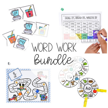ENDLESS Word Work Bundle