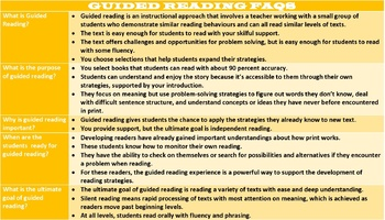 GUIDED READING: LESSON AND RESOURCES