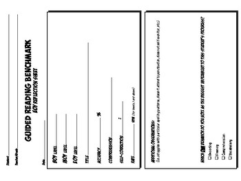 GUIDED READING PROGRESS Forms