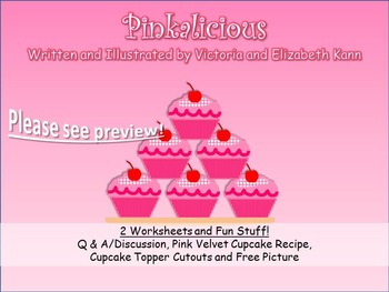 GUIDED READING: Pinkalicious - Worksheets, Plus Recipe and Cutouts