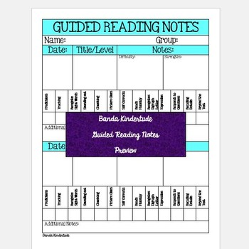 GUIDED READING STUDENT NOTES