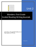 GUIDED WRITING JOURNALS for Wonders Unit 2: First Grade