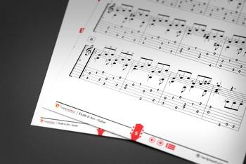 GUITAR SHEET MUSIC: Etude in A minor - Dionisio Aguado [Classical Guitar]