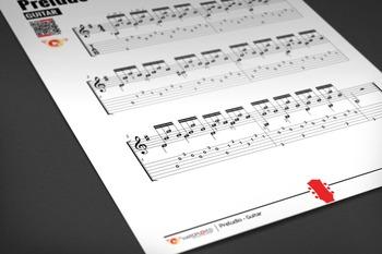 GUITAR SHEET MUSIC: Preludio - Classical Solo [Interactive PDF]