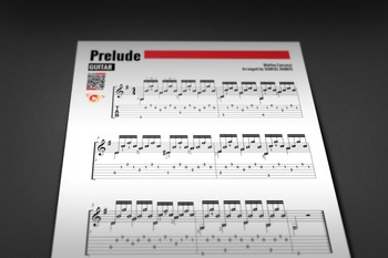GUITAR SHEET MUSIC: Preludio - Classical Solo [Interactive