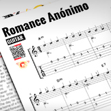 GUITAR SHEET MUSIC: Romance Anónimo [Interactive PDF]