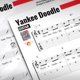 GUITAR SHEET MUSIC: Yankee Doodle w/ Performance Trax
