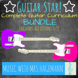 GUITAR STAR! Curriculum - Lessons 1-9 Bundle