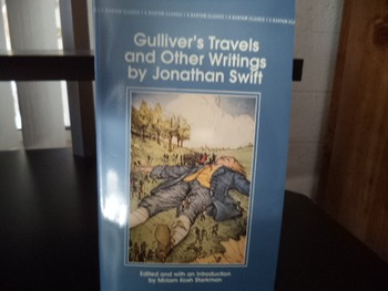 GULLIVER'S TRAVELS AND OTHER WRITINGS ISBN 0-553-21232-X