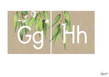 GUM LEAF Editable Word Wall Pack