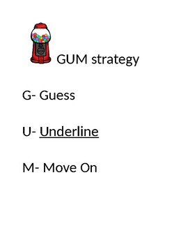 GUM Strategy