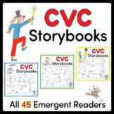 CVC Storybooks ~ All 45 Mini-Books