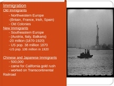 GUS History  Goal 5 day 1 Old vs New Immigration