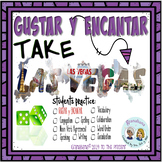 GUSTAR Y ENCANTAR Take LAS VEGAS * a Speaking & Writing Practice Activity