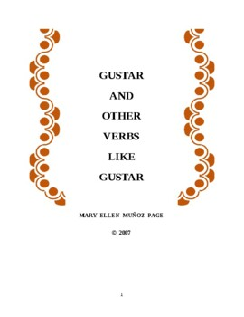 GUSTAR and other verbs like Gustar (revised)